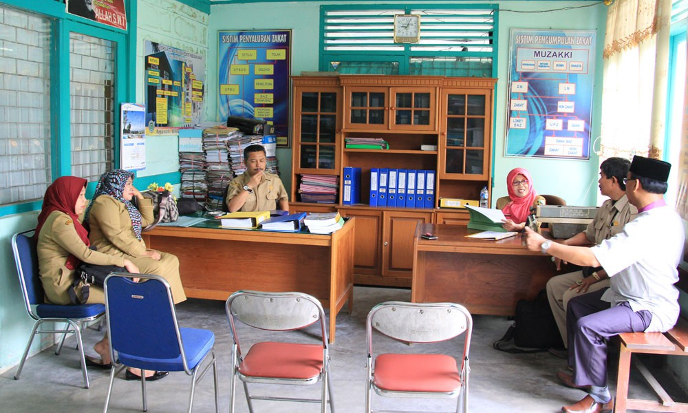 BAZDA Kab. Solok di Audit Inspektorat Kabupaten